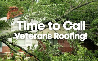 Emergency Storm Damage Roof Repair in Sherman Texas - Veterans Roofing LLC